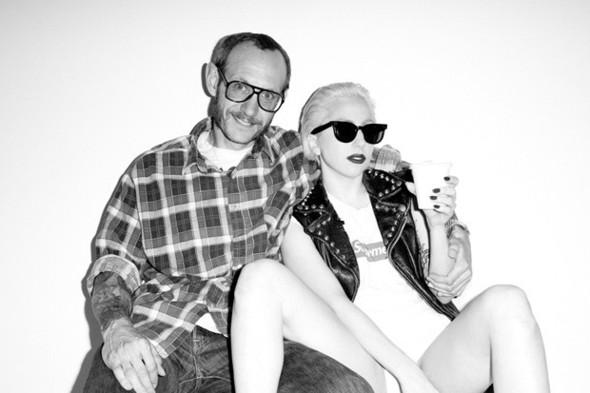 Леди Гага и Терри Ричардсон работают над книгой. Изображение № 3.