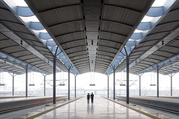 Западный вокзал в Тяньцзине. Изображение № 5.