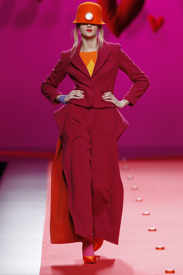 Испанцы Fall Winter 2011/2012: AGATHA RUIZ DE LA PRADA. Изображение № 4.