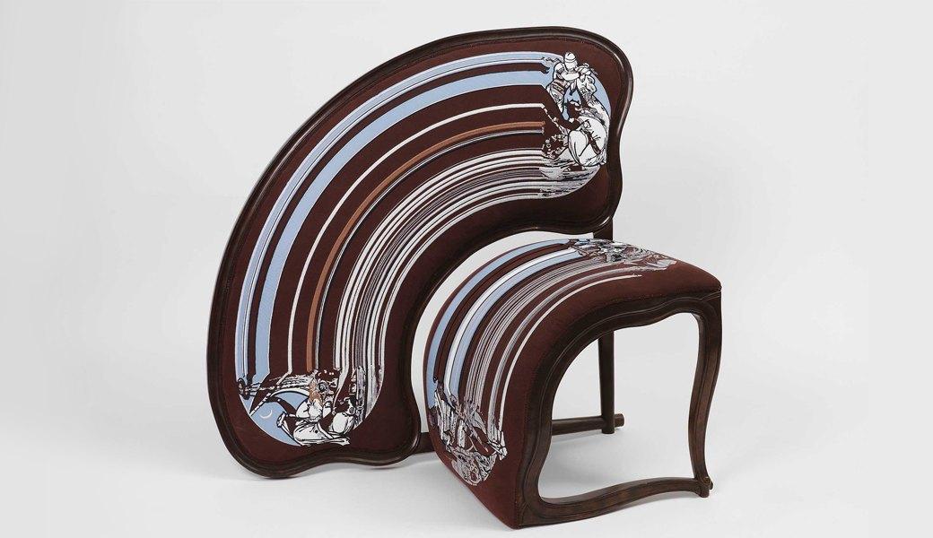 Глитч-мебель: красивые компьютерные ошибки в интерьере. Изображение № 46.