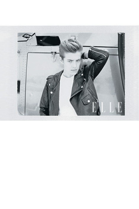 Изображение 3. Джеймс Франко снял Агнесс Дейн для Elle.. Изображение № 3.