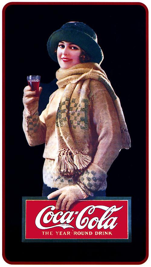 Рекламные плакаты coca-cola. Изображение № 7.