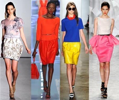 Модные юбки весна-лето 2012. Изображение № 3.