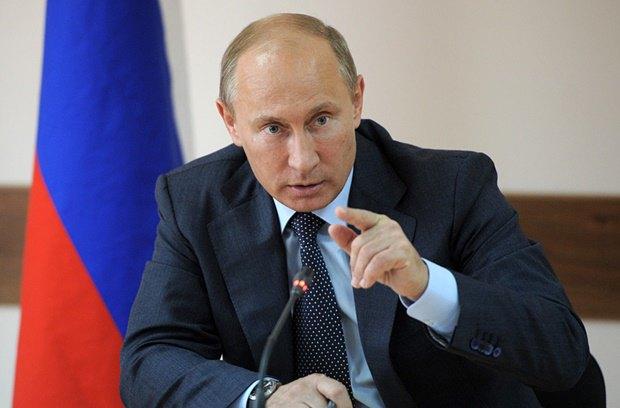 Президент России Владимир Путин. Изображение № 1.