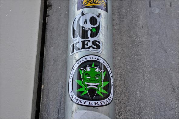 Стрит-арт и граффити Амстердама, Нидерланды. Изображение № 16.