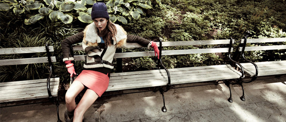 Кампания: Карли Клосс для EnC Fall 2011. Изображение № 5.