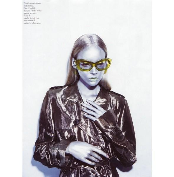 5 новых съемок: Amica, Elle, Harper's Bazaar, Vogue. Изображение № 5.