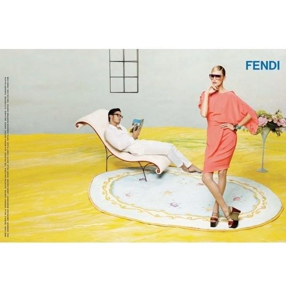 Изображение 12. Рекламные кампании: Fendi, Pepe Jeans и Trussardi 1911.. Изображение № 12.
