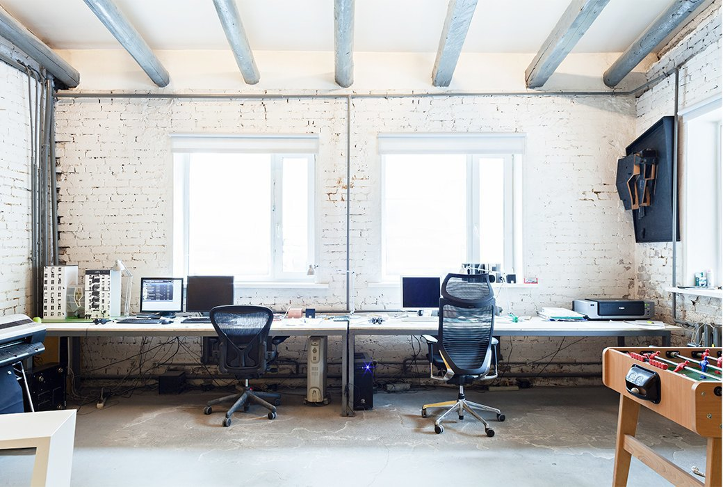 Как устроен офис архитектурной мастерской «za bor». Изображение № 2.
