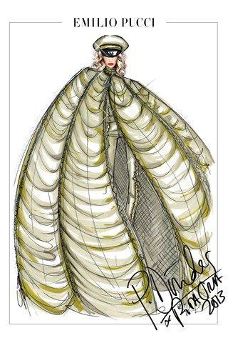 Emilio Pucci создали костюмы для тура Риты Оры. Изображение № 5.