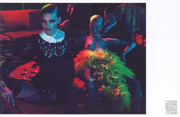 Съемка: Лара Стоун в объективе Мерта Аласа и Маркуса Пигго. Изображение № 2.