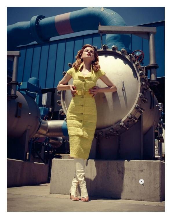 Съёмка: Жиневье ван Синус для Bergdorf Goodman. Изображение № 8.