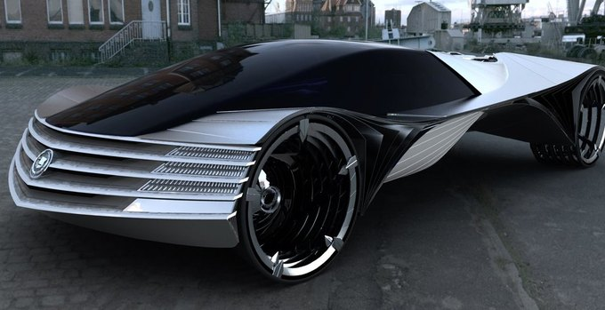 Cadillac  Thorium Concept Car - Image Courtesy . Изображение № 1.