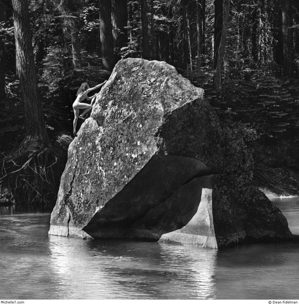 Dean Fidelman. Stone nudes. Изображение № 5.