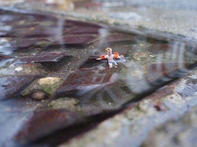 Большая жизнь маленьких людей от Slinkachu. Изображение № 4.