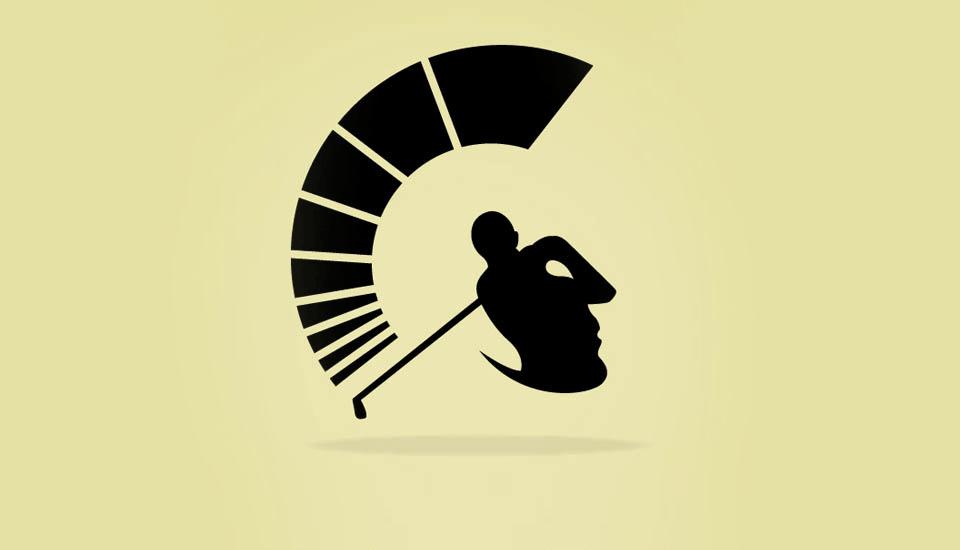 18 логотипов  с оптическими иллюзиями. Изображение № 9.