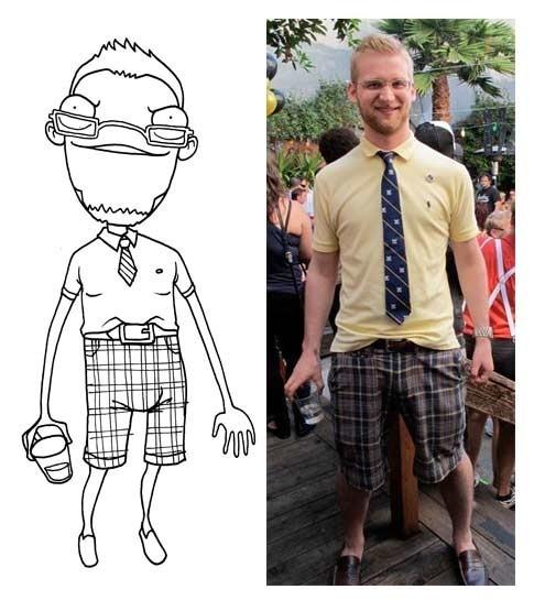 Иллюстрации друзей Adam Ellis. Изображение № 6.