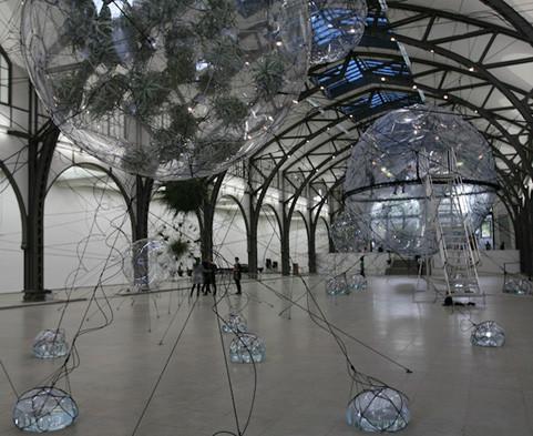 Найдено за неделю: Город будущего в пузырях, гигантская голова и вышитая книга. Изображение № 4.