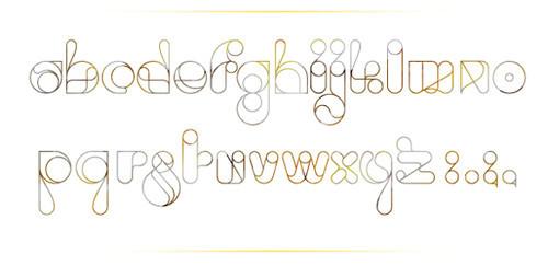 18 шрифтов дизайнерской группы Behance. Изображение № 6.