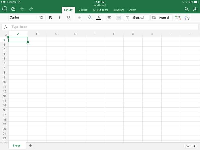 Microsoft выпустила Office для iPad . Изображение № 7.