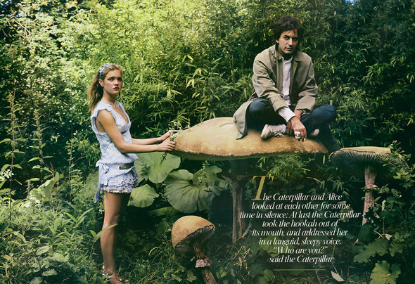 Архивная съемка: Наталья Водянова для американского Vogue 2003. Изображение № 7.