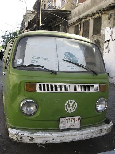 Ретро-автомобили в Сирии. Изображение № 14.