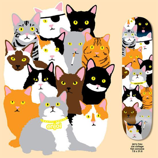 К доске: 10 художников-скейтбордистов. Изображение №43.