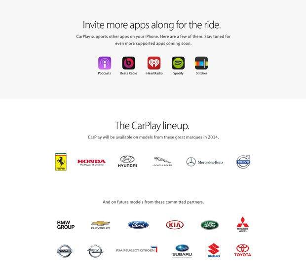 Apple анонсировала CarPlay . Изображение № 3.