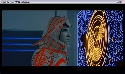 А в фильме «Трон» на радаре очевидно виден персонаж самой популярной игры 1982 года.. Изображение № 10.
