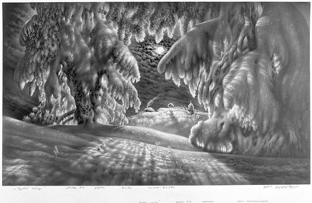 Нарисованный снег, который можно потрогать. Изображение № 7.