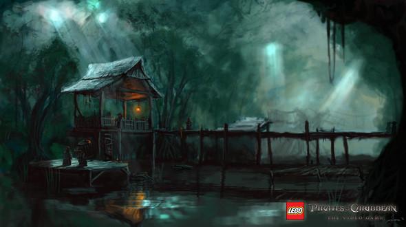 Изображение 7. Компания Disney выпустила игру «LEGO Пираты Карибского Моря».. Изображение № 6.