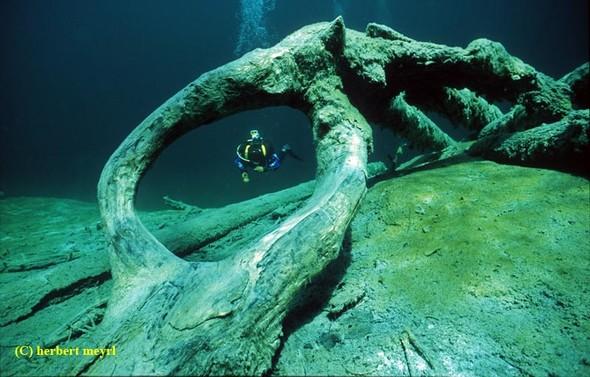 Фотограф Herbert Meyrl. Скамейки под водой. Изображение № 7.