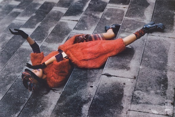 China Vogue January 2008. Изображение № 10.
