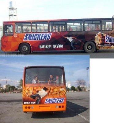 Необычная автобусная реклама. Изображение № 7.