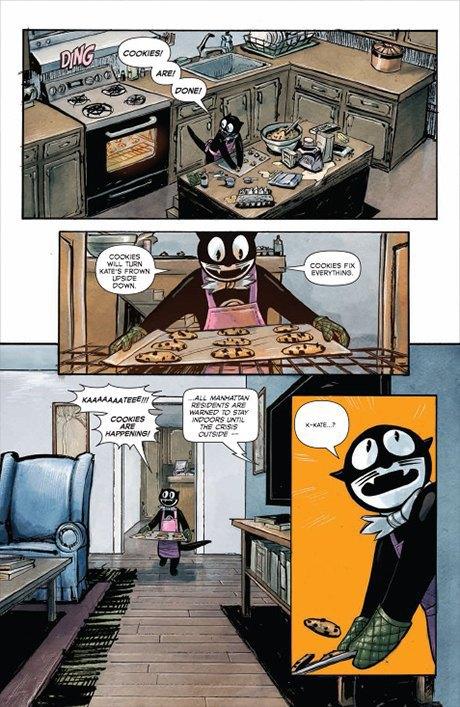«Никаких зомби и супергероев»: Интервью с создателями комикса Shutter. Изображение № 12.