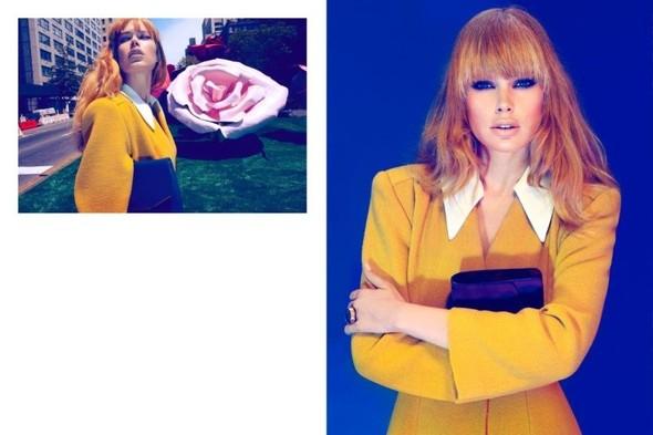 Съемка: Даутцен Крез для немецкого Vogue. Изображение № 3.