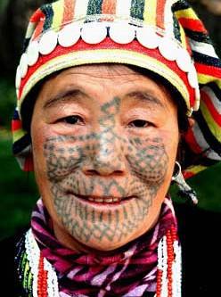 Татухи и наколки. Ч 3. Национальные меньшинства Китая. Изображение № 1.