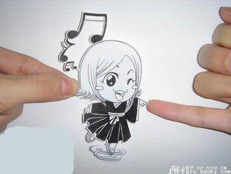 Фотоработы аниме избумаги. Изображение № 18.