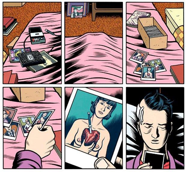 5 психоделических комиксов. Изображение № 10.