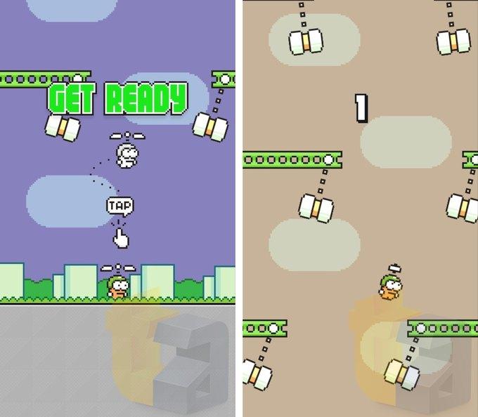 Создатель Flappy Bird показал свою новую игру . Изображение № 2.
