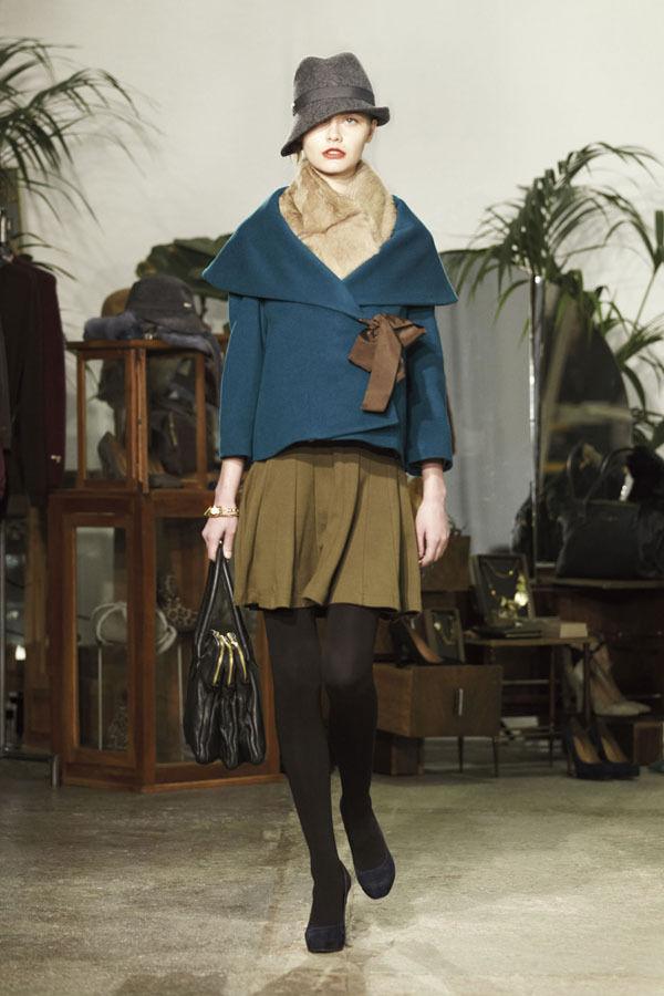 Ретро всегда в моде. Aniye By, осень-зима 2012/13. Изображение № 22.