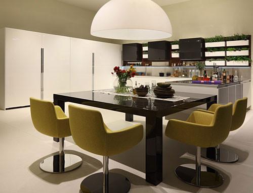 Многогранная кухня Highteak марки Salvarini. Изображение № 1.