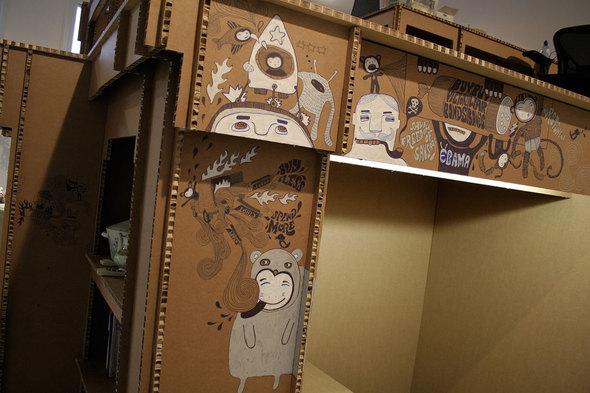 Картонный офис. Изображение № 13.