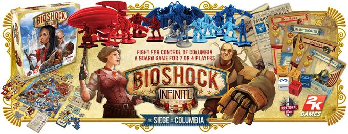 В мае выйдет настольная игра BioShock Infinite. Изображение № 1.
