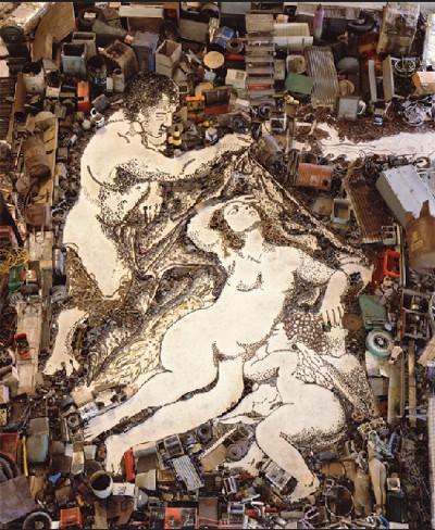 Картины из мусора. Изображение № 21.