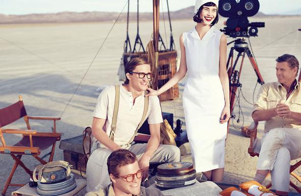 Съёмки: Elle, i-D и Vogue. Изображение № 26.