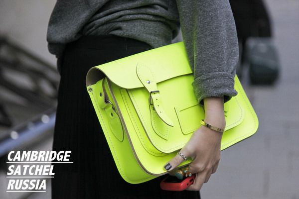 CAMBRIDGE SATCHEL RUSSIA. Изображение № 8.