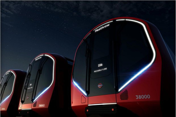Фото: футуристические поезда метро в Лондоне. Изображение № 1.