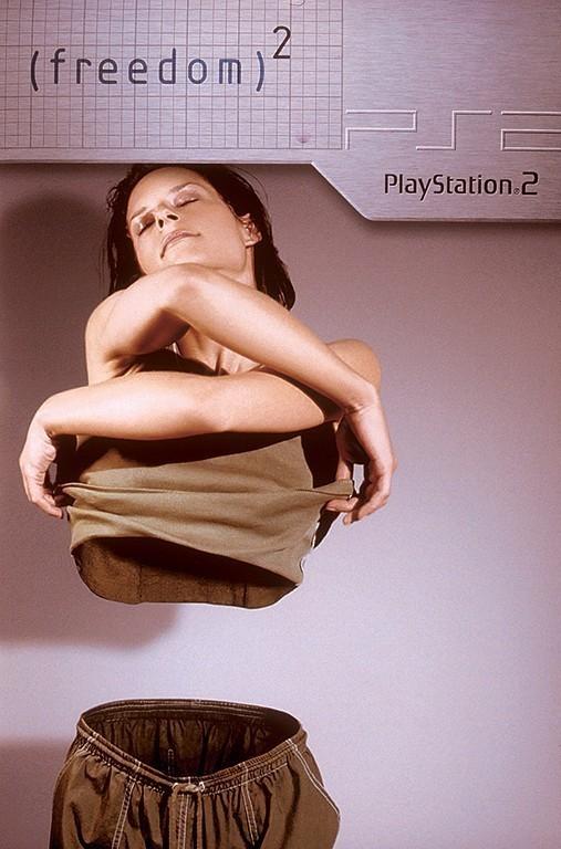 Рекламные плакаты Sony PSPи Sony Playstation 1, 2, 3. Изображение № 51.