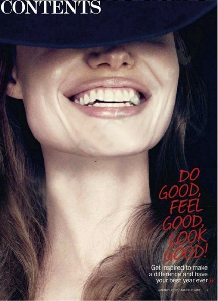 Съёмка: Анджелина Джоли для Marie Claire. Изображение № 8.